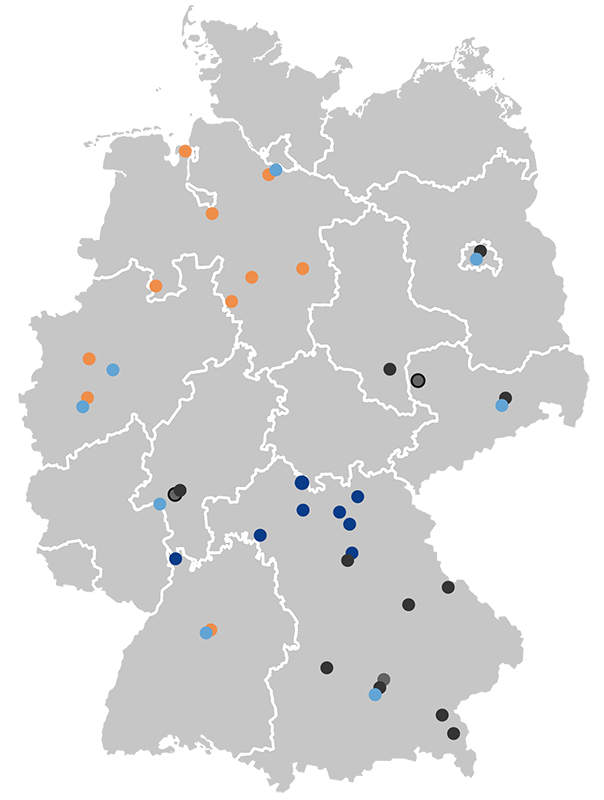 Standorte BPRGruppe